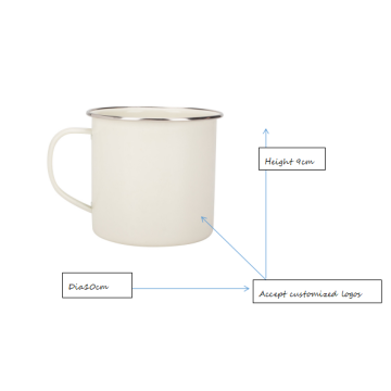 Ceramic camping mug and coffee mug