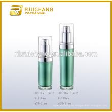 Frasco de crema de acrílico de 15ml / 30ml / botella, frasco de crema / botella de acrílico de la elipse