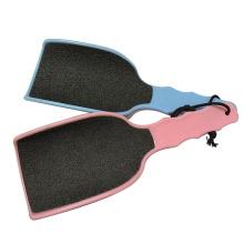 Yangjiang Beauty Tools Wholesale Plastic Big Blue Sandpaper Foot File