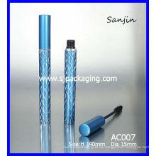 ALUMINIUM MASCARA TUBE / Aluminium Kosmetik Verpackung blau Mascara Fall