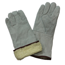 Boa guantes de soldadura de invierno con forro de Kevlar