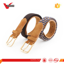Fashion elastic stretch knitted belt