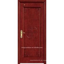 Holzfarbe Tür.Holz zusammengesetzte Tür.Process Tür