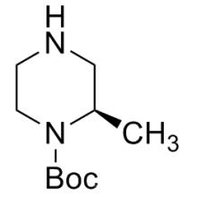 Chimique chirale n ° CAS 170033-47-3 (R) -N-Boc-2-méthylpipérazine