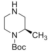 Quiral Quiral CAS No. 170033-47-3 (R) -N-Boc-2-Metilpiperazina