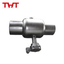 Válvula de bola vástago de hierro con bola de hierro para calefacción por suelo radiante