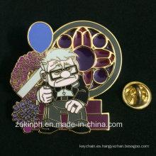Transparente Esmalte Suave / Imitación Hard Enamel Metal Badge