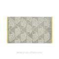 High quality Light Grey Jacquard Towel Sets HTS-026 wholesale