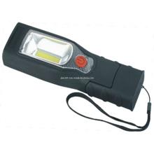 3W COB 3.7V1200mA Li-bateria recarregável LED de trabalho da lâmpada