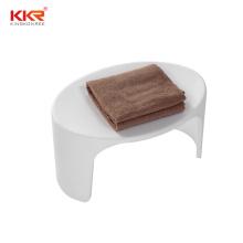 KKR Acrylic Solid Surface Bathroom Stool Shower Stool