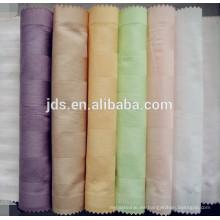 Tejido teñido 100% poliéster para textiles para el hogar