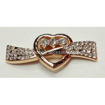 Love Buckles with Design of An Arrow Through a Heart