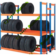 Display Truck Tire Rack