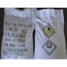Poudre blanche 99,3% Nitrate de baryum pour l'industrie (CAS: 10022-31-8)