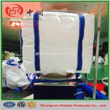 Double Stevedore Strap Fibc Tasche, Schlinge große Tasche 5: 1 1000kg für Zement