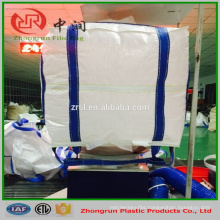Double Stevedore Strap fibc bag , sling big bag 5:1 1000kg for cement