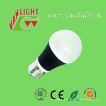 E27 Lâmpada quente luz 7 Watt LED efeito