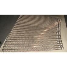 Curve Wire Mesh Conveyor Belt (Left)