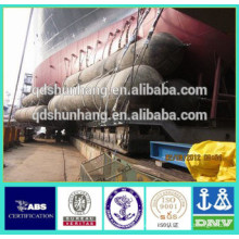 Airbag gonflable en caoutchouc certifié par CCS pour la récupération de bateau engloutie