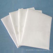 Tissu gris chaud / tissu tissé / tissu de coton / tissu de tissu de polyester / tissu de polyester