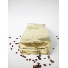Pochette à café à fond plat avec fenêtre