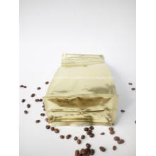 Print Coffee Flat Bottom Pouch with Window