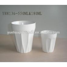 SGS & FDA 180ml & 550ml Keramik Promotion Becher zum Verkauf