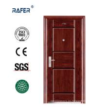 Puerta de acero económica de diseño simple (RA-S099)
