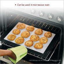 A alta temperatura resiste a esteira do forno do silicone da não-vara