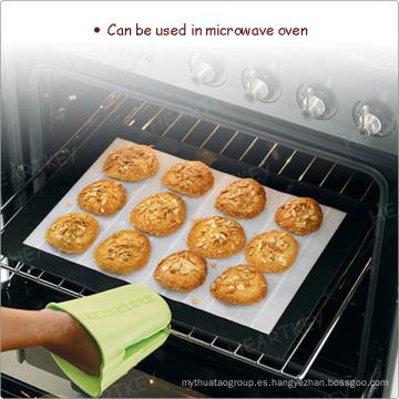 Resistente a altas temperaturas antiadherente de silicona estera del horno