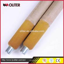 sonde composée d'utilisation d'usine de fabrication d'acier d'échantillonnage d'oxygène liquide pour l'acier fondu