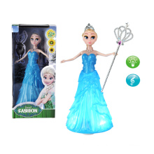 2016 Newest Product 11.5 Inch Plastic Frozen Doll (10244352)