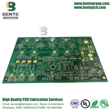 6-layers Multilayer PCB FR4 Tg180 PCB ENIG 3U