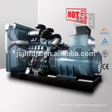 50hz open type 900kw 1125kva Germany Man diesel generator set price