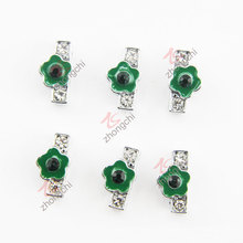 8mm diamante verde I Slider encanto (JP08)