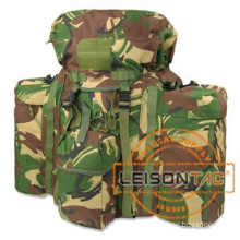 Military Backpack with ISO standard Waterproof Nylon Backpack with Metal Frame