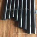 Pólo puro do vácuo da calha do tubo do caron de 100% / tubo fibra do carbono para a indústria da limpeza da calha