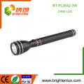 Factory Custom Made Housing Aluminum Handheld 3SC Ni-mh cell Black 180 lumen Q3/Q5 Cree Rechargeable Most Powerful led Light