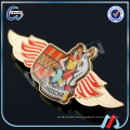 handmade printing airline lapel pins