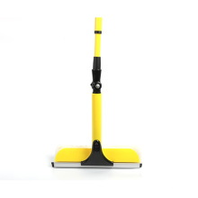 Yellow retractable and removable handle Household window wiper
