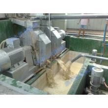 Usine de fabrication d'amidon de manioc