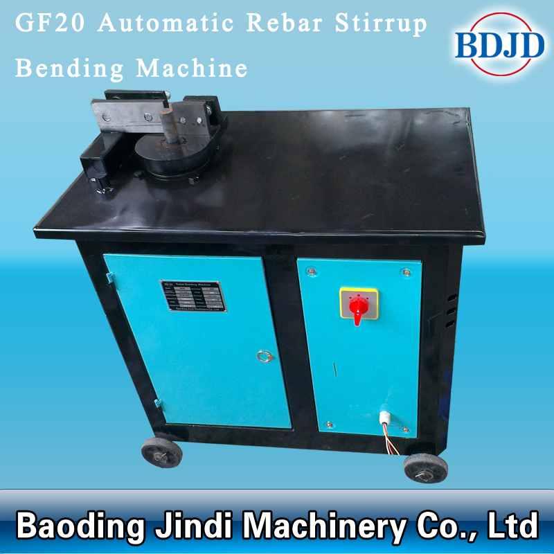 Automatic Rebar Stirrup Bending Machine004