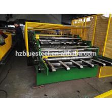 Machine de formage de rouleaux à double couche de panneau de profilé, panneau de drap de toit