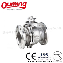 JIS Standard Stainless Steel Flanged Ball Valve