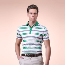 OEM Hersteller Stripe Polo Kurzarm Polo