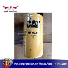 1R0739 Filtro de Óleo para Peças de Motor de Escavadeira Cat