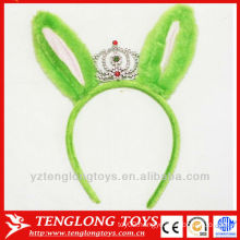 2014 hot sale plush rabbit ear hair band