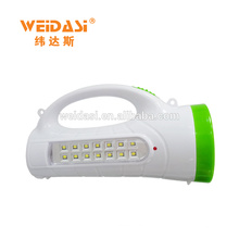 Lampe portative portative de recherche de LED de Bettery, lumière de chasse d'aventure de WD-512