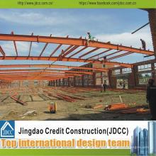 Buena calidad y estructura de acero del panel de bocadillo del bajo costo Almacén / taller / edificio