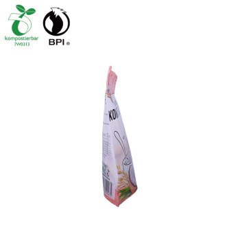 Stand Up Food Grade Plastik Biodogradable Bags
